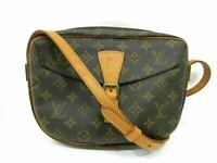 Auth LOUIS VUITTON Monogram Jeune Fille M51226 Shoulder Bag PVC Leather 86674
