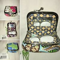 Vera Bradley Contact Jewelry Women's Case, Multiple Patterns, New with Tags