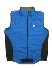 Men's Pearl Izumi Blue  Cycling Vest - Full Zip - Mesh Back- Large