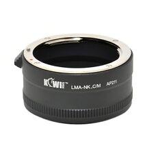 KiwiCamera Mount Adapter - for Nikon F to Canon M