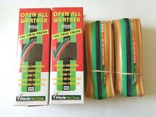 *NOS Vintage VITTORIA 'OPEN ALL WEATHER' 700 x 22C twin tread clincher tyres*