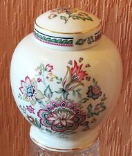 Small Royal Winton Ginger Jar with Stylized Floral Clusters.
