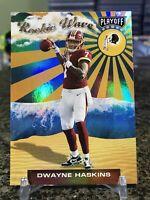 2019 Playoff Rookie Wave #3 Dwayne Haskins RC Foil Refractor Insert SP Redskins!
