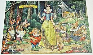 Walt Disney Jigsaw Puzzle Snow White and the Seven Dwarfs 1951 JayMar Specialty
