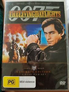 The Living Daylights (DVD, 2010, 2-Disc Set) ULTIMATE EDITION LIKE NEW R4 DVD