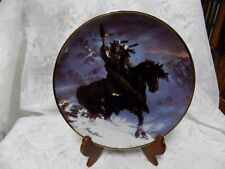 Collectible Plate~Spirit Of The West Wind~Hermon Adams~Franklin Mint~