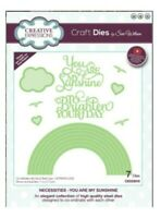 Rainbow Metal Die Cut You are My Sunshine Creative Expressions Cutting Dies