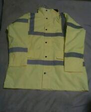 security hi vis saftey jacket  fleece size L