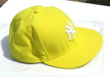 CASQUETTE ORIGINAL New Era jaune NEW YORK Yankees 59 Fifty  -  NEUVE -T : 7  3/4