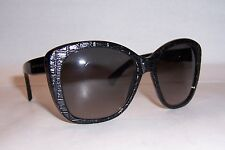 NEW ALEXANDER MCQUEEN SUNGLASSES AMQ 4193/S BLACK/GRAY 807-EU AUTHENTIC