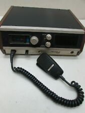 Vintage 1975 Cb Base Station Amateur Radio Transceiver Hy-Gain Hy-Range lV Mic