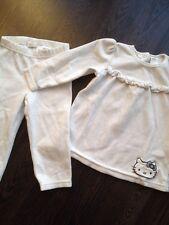 H&m Nicki Set Costume 86 blanc Hello Kitty 2-Diviseurs Pantalon Pull kuschelset Home