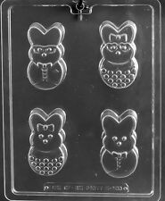 NEW CHOCOLATE COVERED PEEPS mold Chocolate Candy bunnies cupcake E483