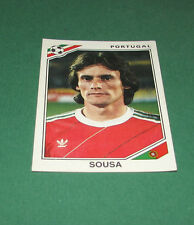 N°392 SOUSA PORTUGAL PANINI FOOTBALL COUPE MONDE 1986 MEXICO WM MUNDIAL FIFA