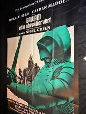 GAUVAIN et le chevalier vert  Murray Head  rare affiche cinema vintage 1973