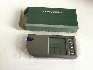 Howard Miller Flashlight Alarm Model 645-552 Silver NIB