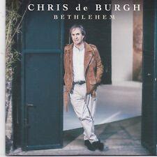 Chris De Burgh-Bethlehem promo cd single