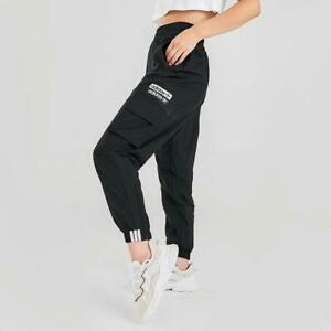 adidas Originals Women's Baloon Cargo Pants FL9103 Black White