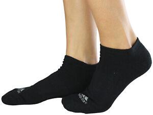 Adidas Women's 3 Pack Comfort Low Cut Black and Grey Socks