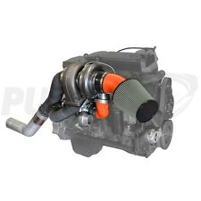 FITS 07.5-09 ONLY DODGE RAM DIESEL PUSHER  HIGH MOUNT COMPOUND TURBO SYSTEM..