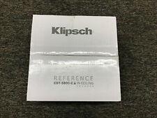 "New listing Klipsch Cdt-5800-C Ii 8"" In-Ceiling Pivoting Speaker - Each (White) Brand New"
