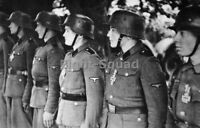 WW2 Picture Photo July 1944 German 12th Panzer receive Iron Cross award 2867