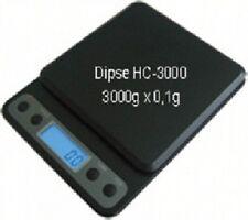 Dipse HC-3000 Waage 3000g 0,1g 15 cm x15 cm  Feinwaage Goldwaage Taschenwaage