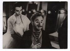PHOTO KEYSTONE Charlie Chaplin Claire Bloom Les feux de la rampe Limelight Clown