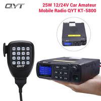 Dual Band Truck Car Radio VHF UHF 136-174/400-480MHz Walkie Talkie Transceiver