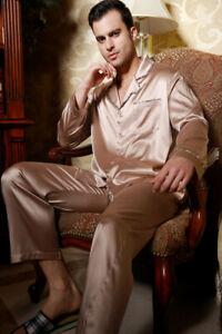 19MM Heavy Weight Pure Silk Men's Pajamas Set X1302