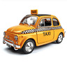 Welly 1:24 Fiat Nuova 500 Taxi Diecast Model Sports Racing Car NEW IN BOX