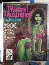Marvel Illustrated 1991  #1 Premier Swimsuit Issue  She-Hulk Cover high grade