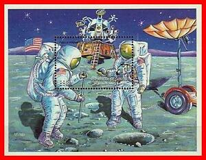 DJIBOUTI  =  SPACE / APOLLO S/S #1  MNH  (DID YOU TRY?? YES, TRY, TO SEE MORE??)