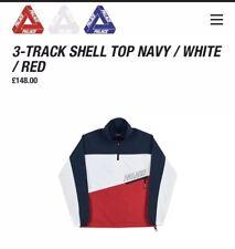 Palazzo Skateboard 3 Track Top Shell Blu Navy Bianco Rosso XL inviare offerte