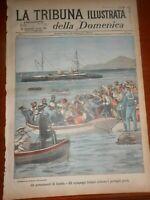 1897 RIVOLTA CANDIA CRETA FALSARI NAPOLI FLOTTA ITALIANA REGIA NAVE RE UMBERTO