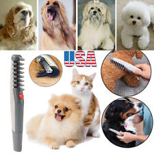 Pet Dog Cat Grooming Clippers Electric Comb Hair Scissor Trimmer Knot Out Remove