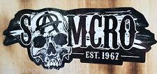 Old school autocollant soa sons of Anarchy 1% Biker sticker harley bobber samcro