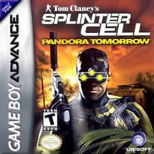 Splinter Cell: Pandora Tomorrow GBA New Game Boy Advance
