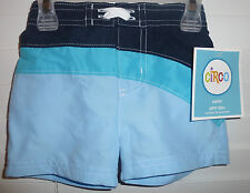 Circo Baby Boy Swim Trunks Shorts~New~Bathing Suit For Summer Fun~Sz 12Mo~Blue