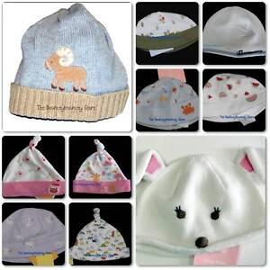 NWT Gymboree Infant Caps Hats Beanies Preemie 3 6 9 12
