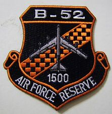 B-52 AIR FORCE RESERVE 1500 HOURS PATCH FULL COLOR:GA12-4
