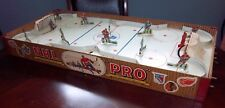 Eagle NHL Pro  Hockey game 1957 universal goalies  table top hockey game