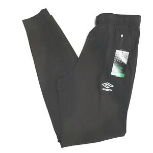 Umbro Jogger Training Pants Zip Pockets Exercise Mens Small Industrial Gray NEW