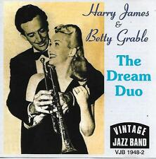 HARRY JAMES & BETTY GRABLE The Dream Duo Vintage Jazz Band VJB 1948-2 (UK 1996)