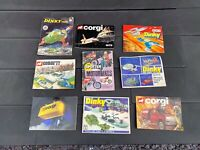 Dinky Toys & Corgi Toys Catalogue - Nice Vintage Joblot / Collection X9
