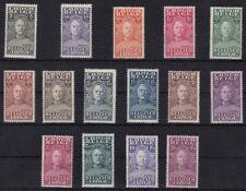 1928 CONGO BELGA/BELGISH CONGO - COB n° 135/149 set of 15 MLH/*