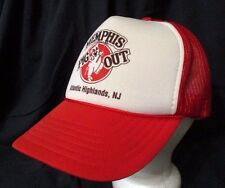 Memphis Pig Out Atlantic Highlands NJ Mesh Trucker Baseball Cap Hat