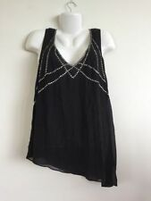 Katies Solid Sleeveless Tops & Blouses for Women