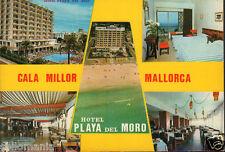 POSTAL HOTAL PLAYA DEL MORO CALA MILLOR . MALLORCA . BALEARES .VER TIENDA CC2934