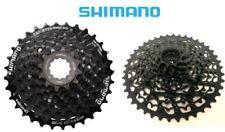 Cassettes y piñones bicicletas de montaña negro Shimano para bicicletas